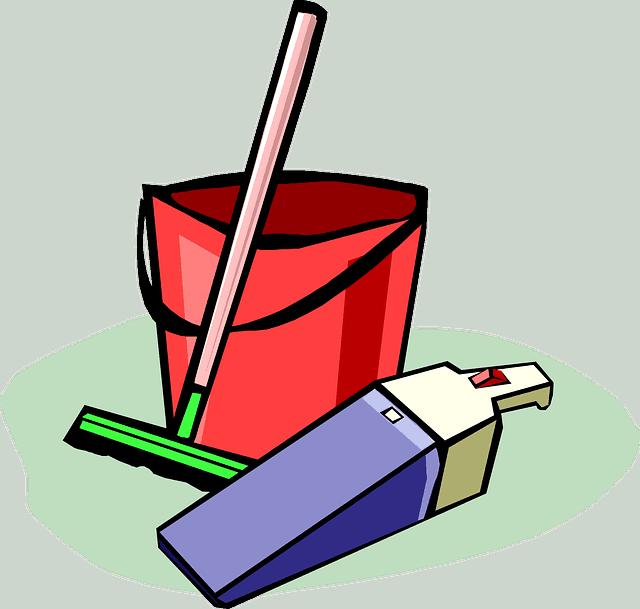 עזרה לניקיון בית