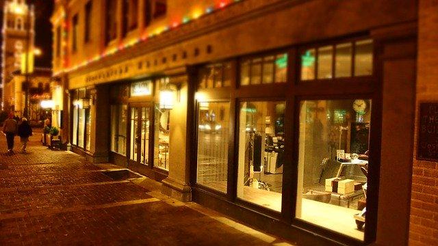 ניקוי חלונות ראווה לעסקים ולחנויות